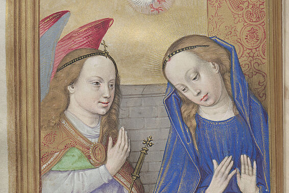 The Angel's Annunciation to Mary, State Hall