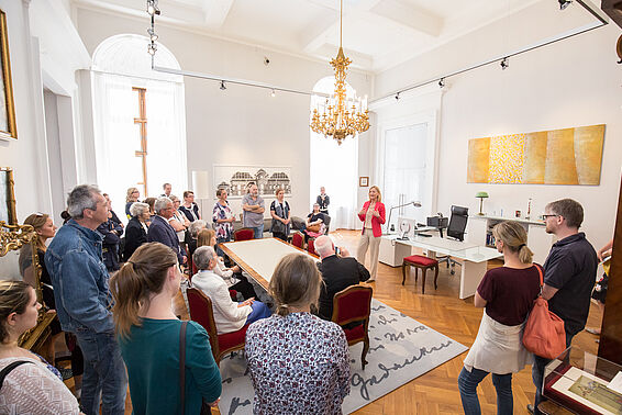 Meet & Greet mit GD Dr. Johanna Rachinger, Open House
