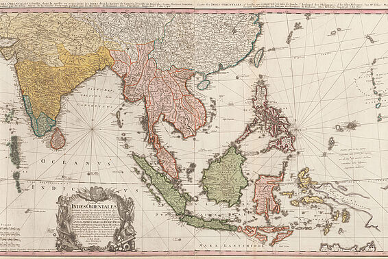 South-East Asia, 1748
