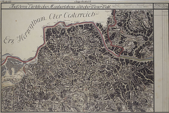 Josephinian Land Survey of Lower Austria