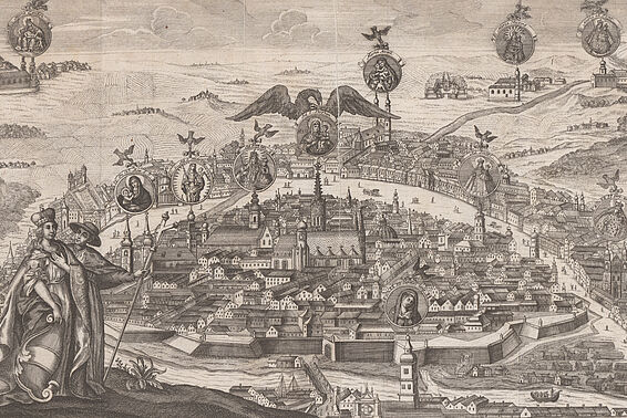 Vienna, around 1735