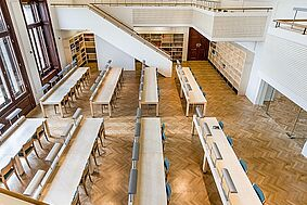 Research Reading Room of the Austrian National Library