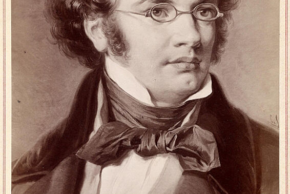 Portrait of Franz Schubert