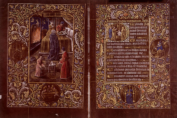Black Prayer Book, once owned by Bianca Maria Sforza